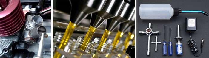 El chispometro es utilizado para encender coches RC con motor Nitro.