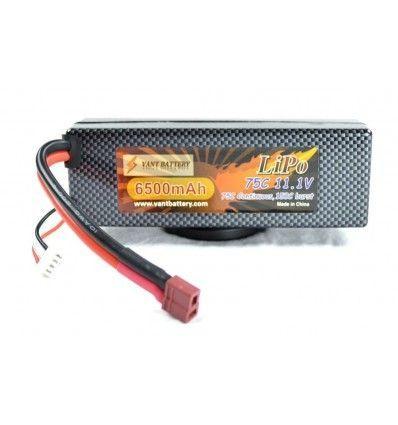 Batería RC Li-Po 11.1V 6500mAh 75C