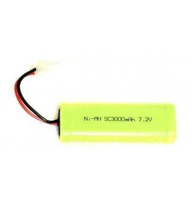 Bateria Ni-MH 7.2v 3000mAh 15C