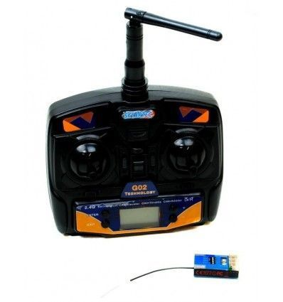 Transmisor/Receptor Skyartec 2.4GHz 4CH
