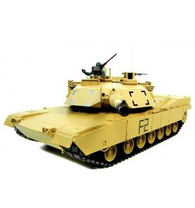 Tanque RC Heng Long M1A2 Abrams Pro